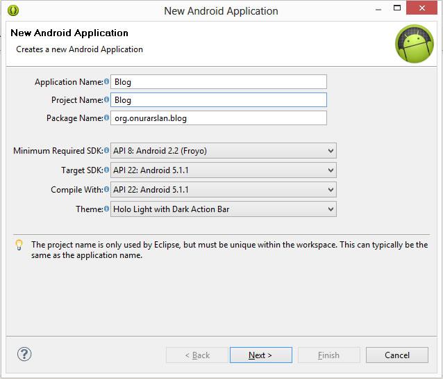 android-proje-olusturma-2